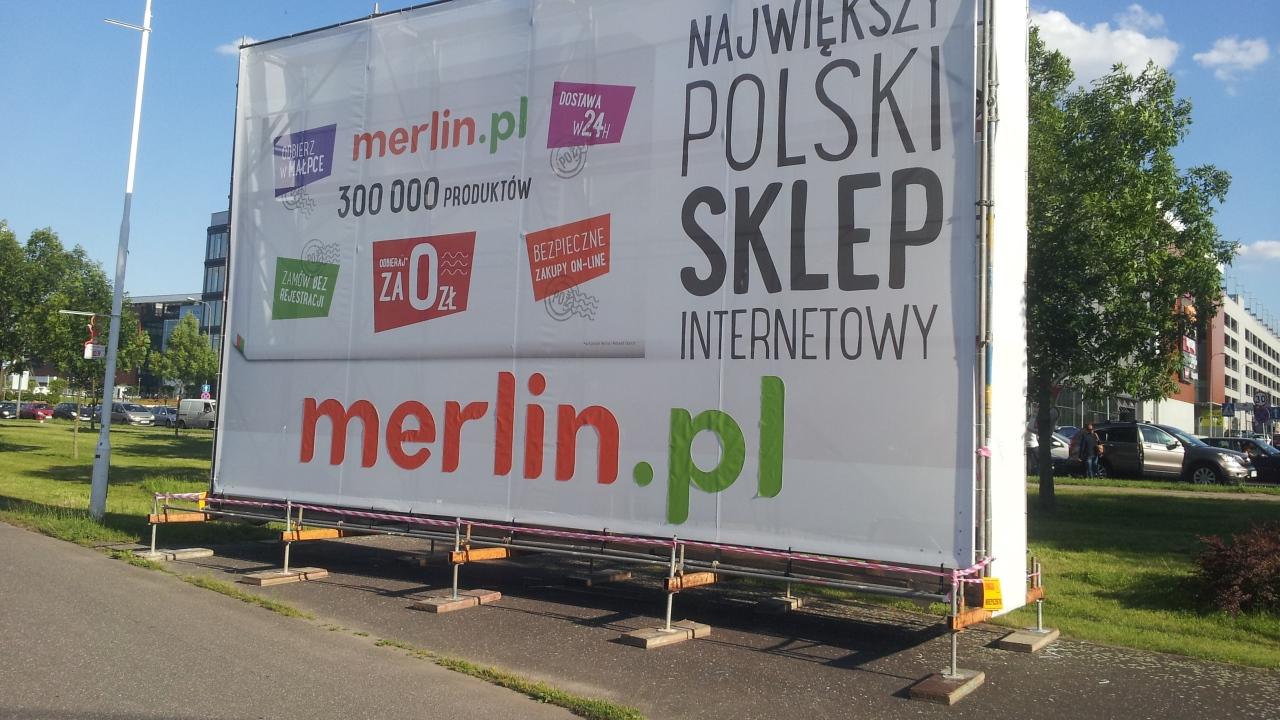 Quadriga realizacje: Rusztowanie wolnostojące pod banery, tereny rekreacyjne Malta, Poznań
